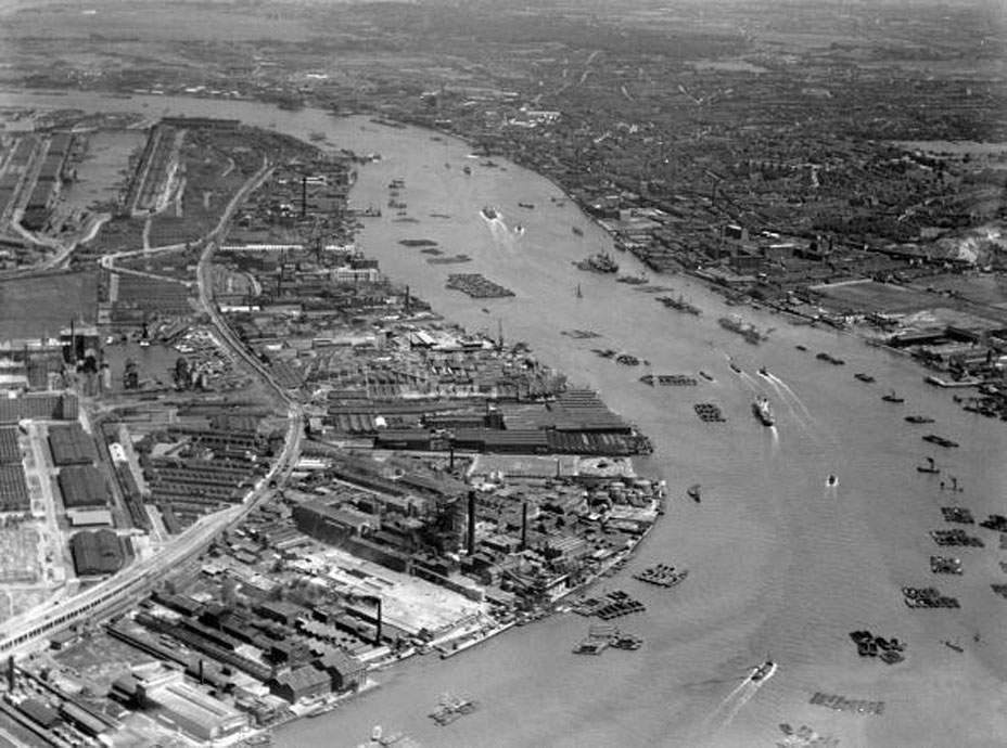 Silvertown In April 1939